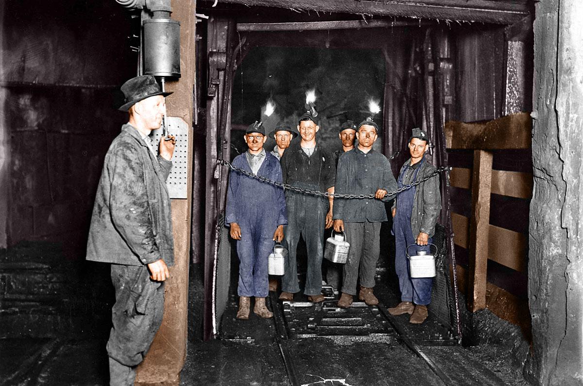 Miners 1920 Restoration