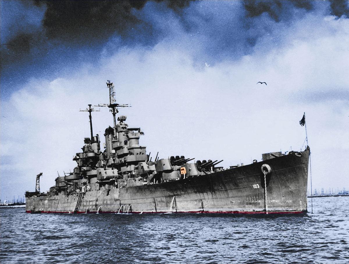 USS Wilkes-Barre Restoration